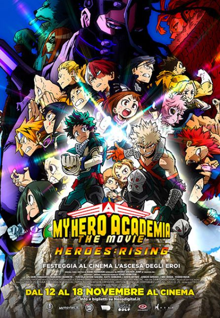 MY HERO ACADEMIA THE MOVIE: THE HEROES RISING - NEXO ANIME 2020